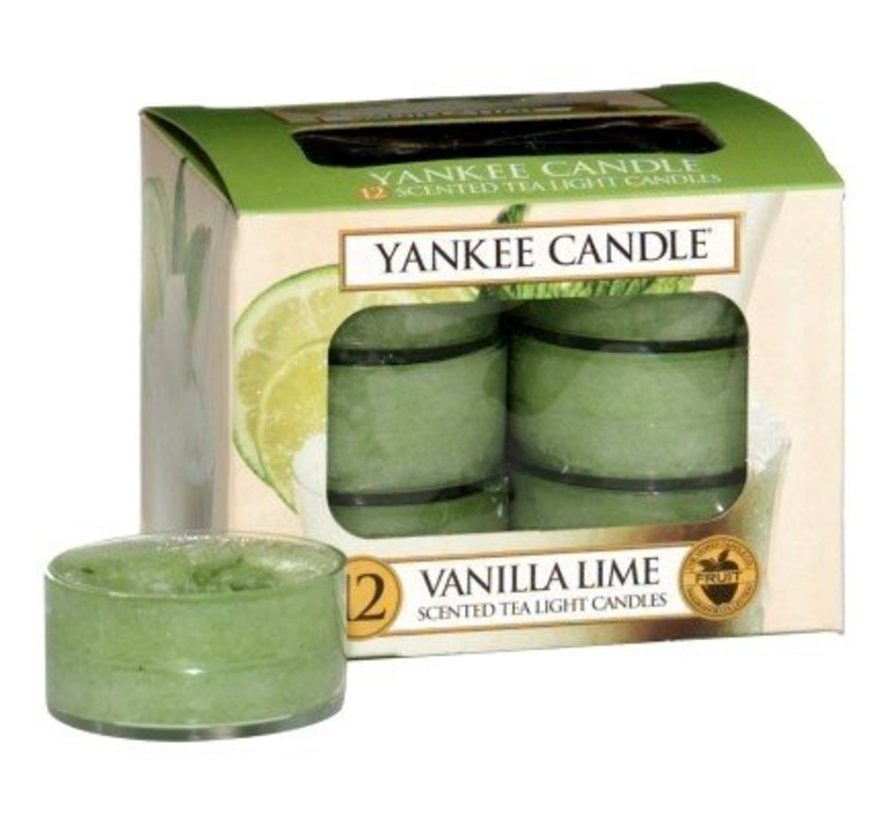 Vanilla Lime - Tea Lights