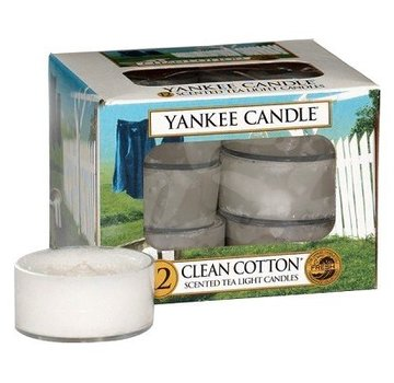 Yankee Candle Clean Cotton - Tea Lights