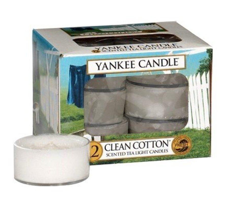Clean Cotton - Tea Lights