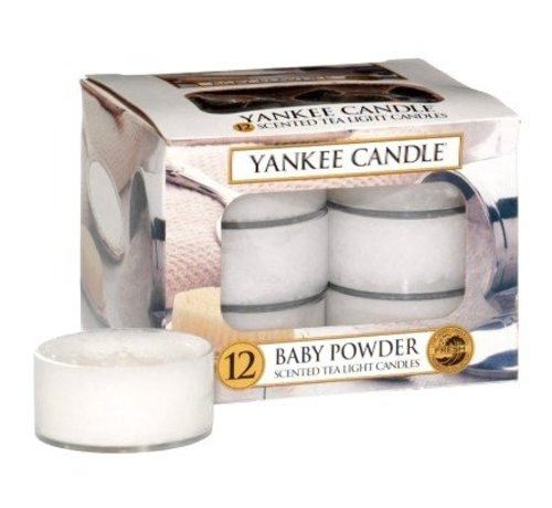 Yankee Candle Baby Powder - Tea Lights