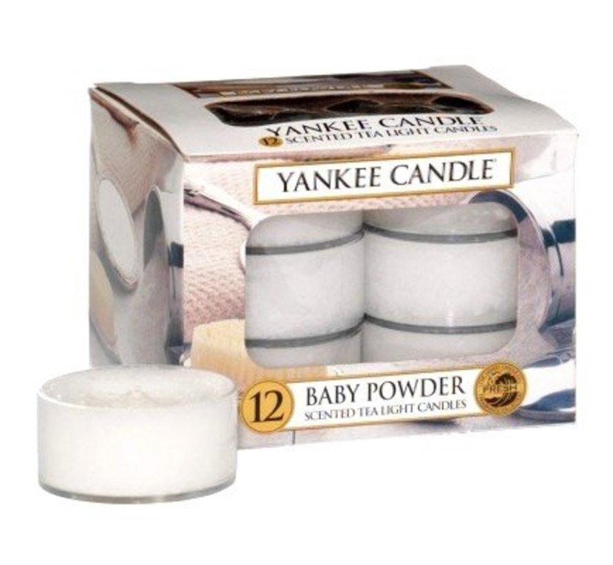 Baby Powder - Tea Lights