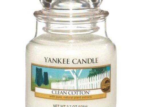 Yankee Candle Clean Cotton - Small Jar