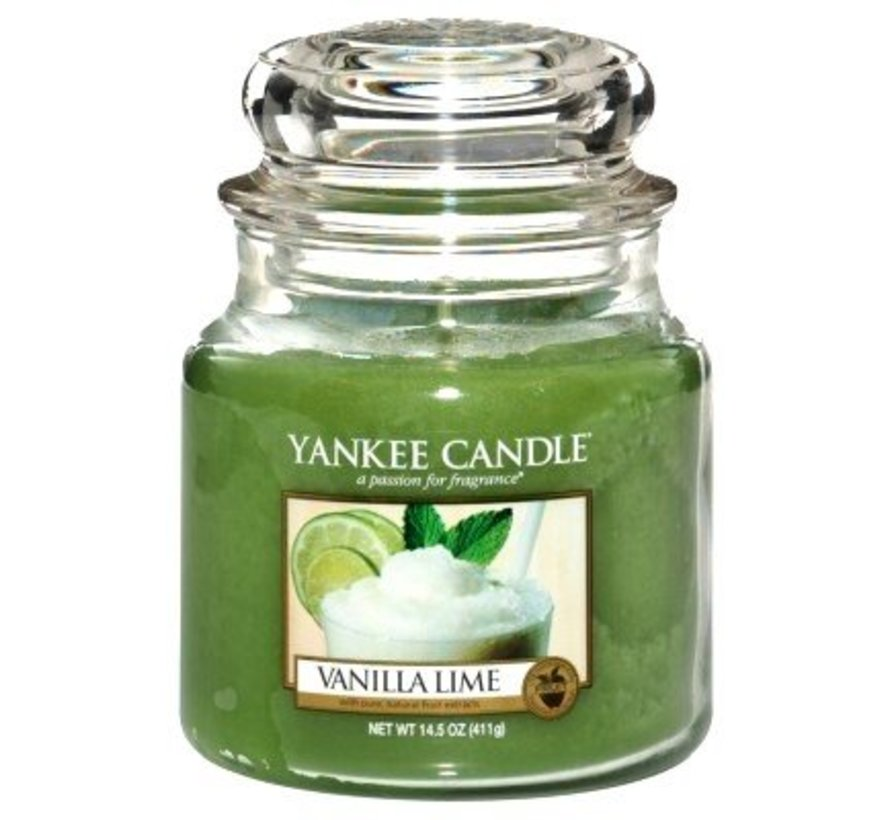 Vanilla Lime - Medium Jar