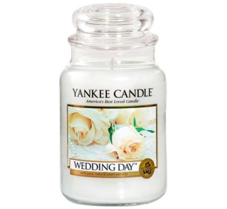 Wedding Day - Large Jar