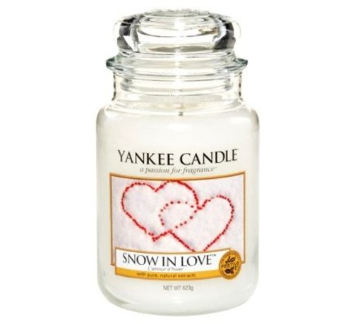 Yankee Candle Snow In Love - Large Jar