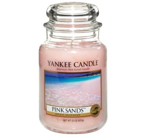 Yankee Candle Pink Sands - Large Jar