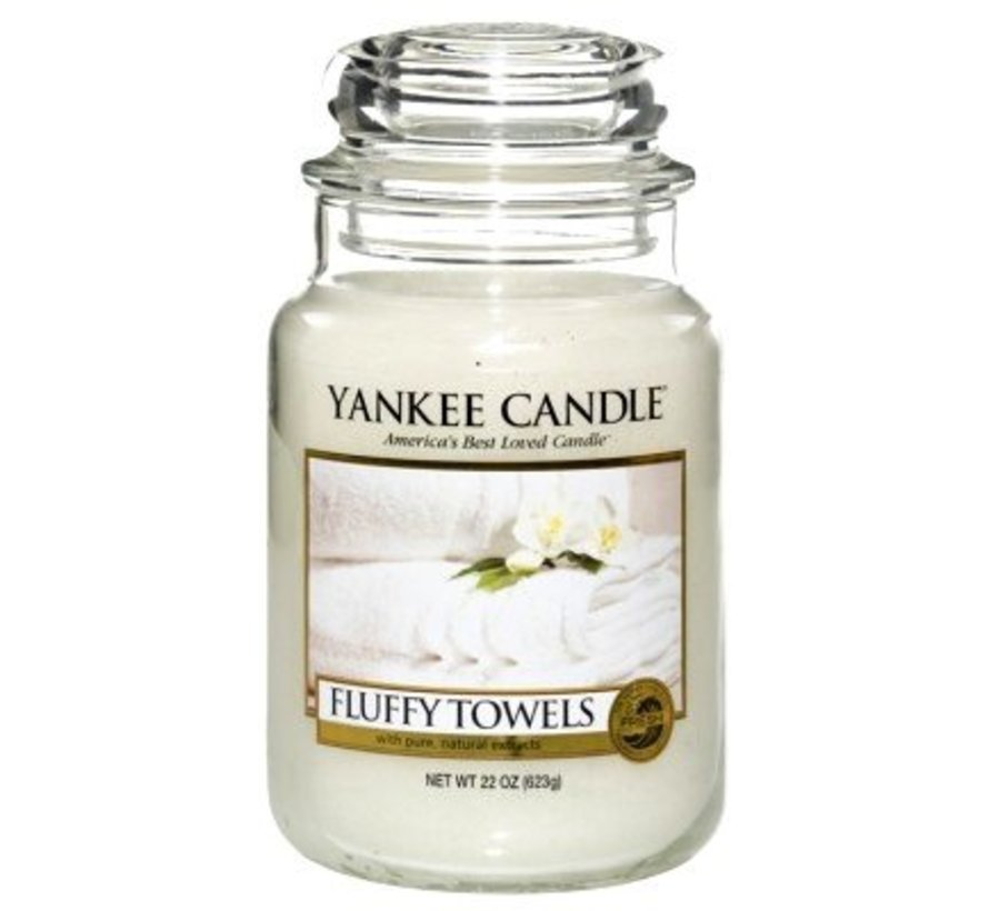 Fluffy Towels - Large Jar