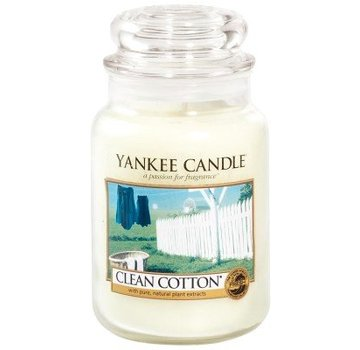 Yankee Candle Clean Cotton - Large Jar