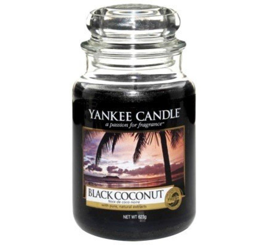 Black Coconut - Large Jar