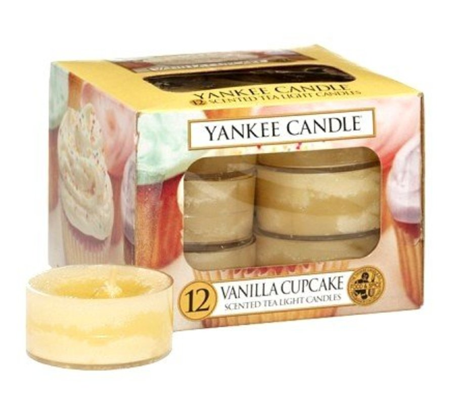 Vanilla Cupcake - Tea Lights