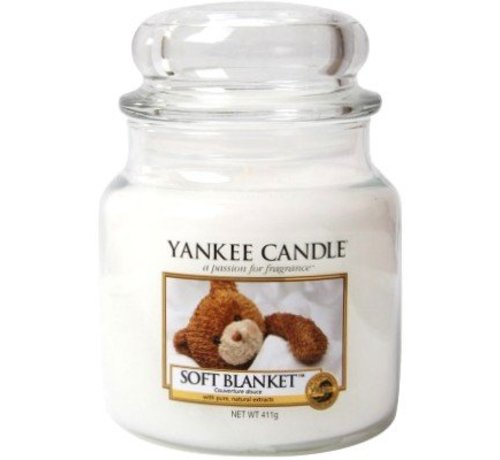 Yankee Candle Soft Blanket - Medium Jar