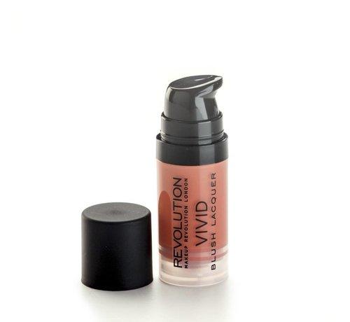 Makeup Revolution Vivid Blush Lacquer - Heat - Blush