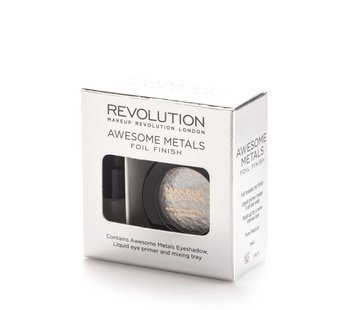 Makeup Revolution Awesome Metals Eye Foils - Pure Platinum