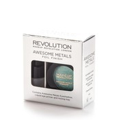 Makeup Revolution Awesome Metals Eye Foils - Emerald Goddess