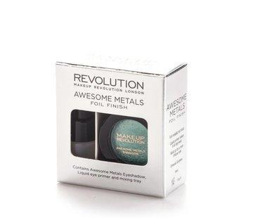 Makeup Revolution Awesome Metals Eye Foils - Emerald Goddess