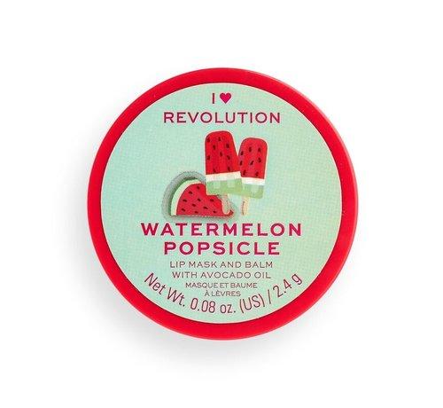 I Heart Revolution Lip Mask - Watermelon Popsicle