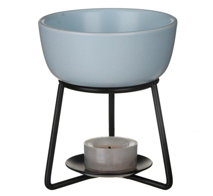 Pebble Melt Warmer - Spa Blue
