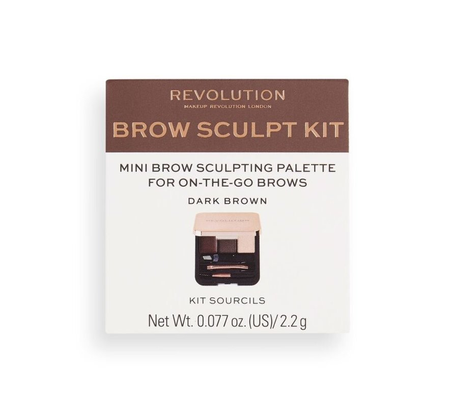 Brow Sculpt Kit - Dark Brown