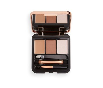 Makeup Revolution Brow Sculpt Kit - Brown