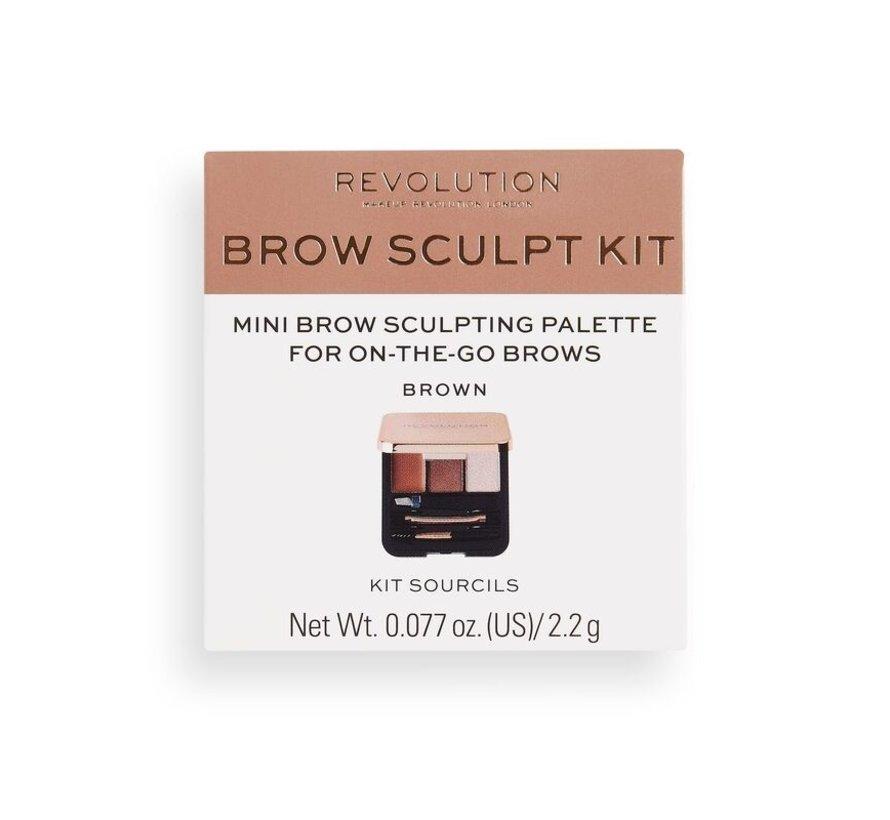 Brow Sculpt Kit - Brown