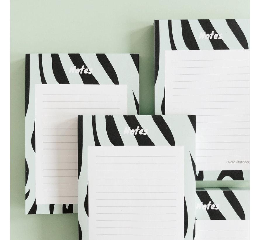 Noteblock Zebra Mint