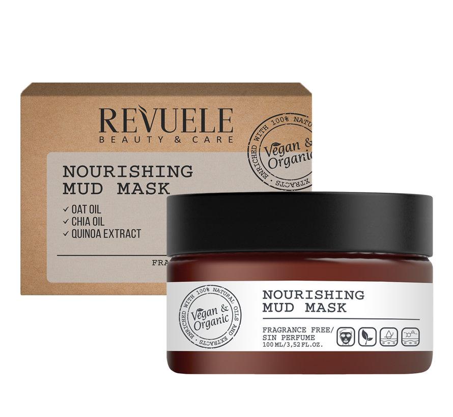 Vegan & Organic - Nourishing Mud Mask