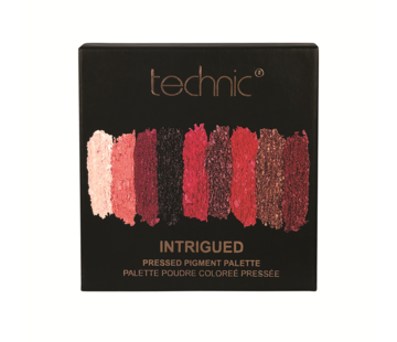 Technic Pressed Pigments Eyeshadow Palette - Intrigued / Ruby