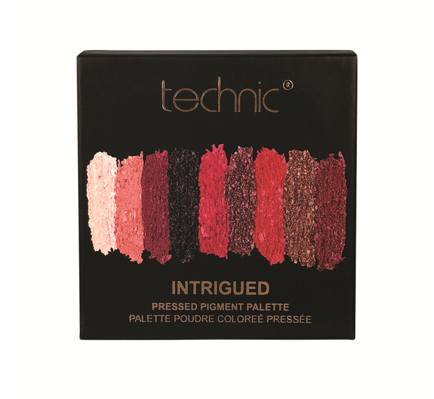Pressed Pigments Eyeshadow Palette - Intrigued / Ruby