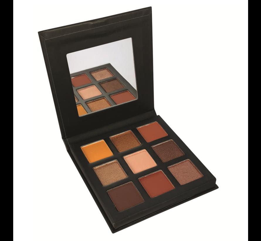 Pressed Pigments Eyeshadow Palette - Enticing / Topaz