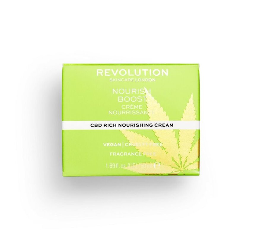 CBD Nourish Boost Cream