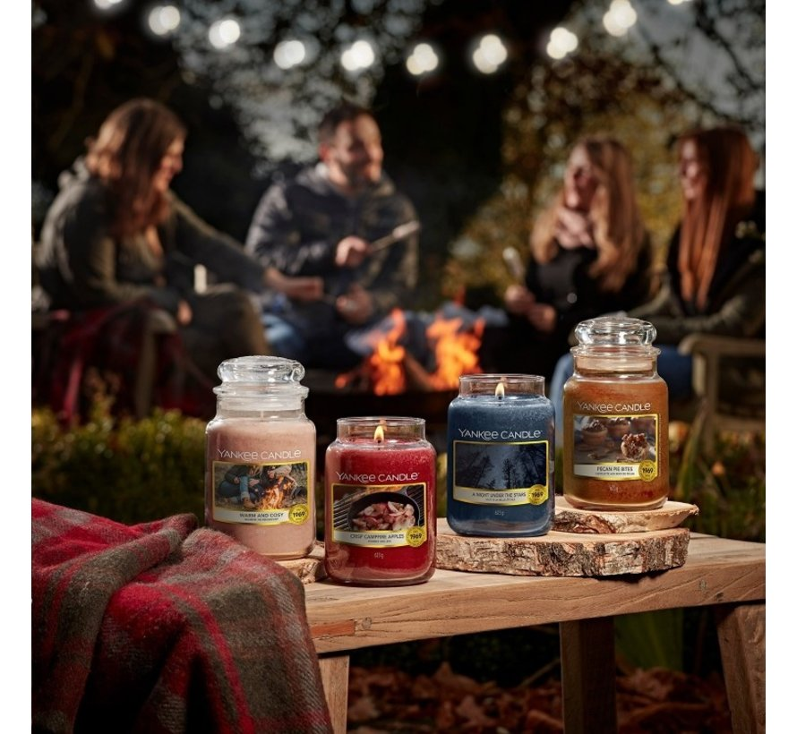 Crisp Campfire Apples - Tea Lights