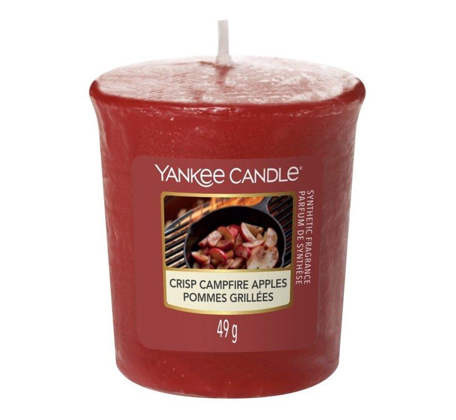 Crisp Campfire Apples - Votive