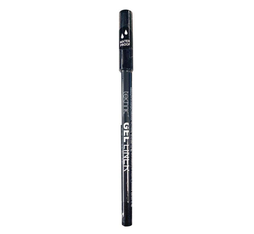 Gel Eyeliner Pencil - Waterproof Black