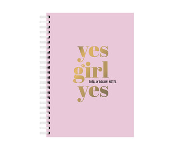 Studio Stationery Notebook - Yes Girl Yes