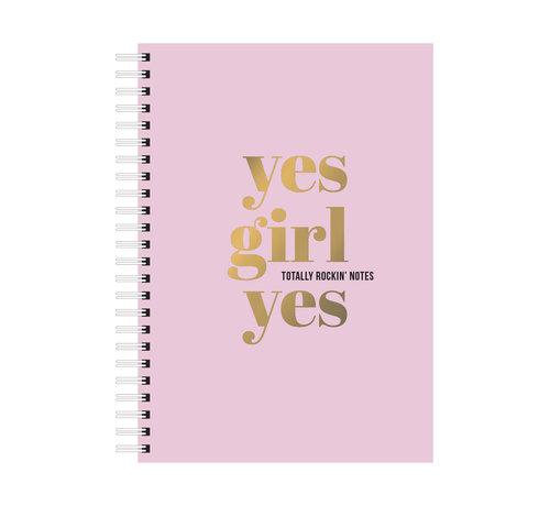 Studio Stationery Notebook - Yes Girl Yes