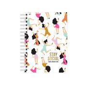 Studio Stationery Notebook - Stay Social