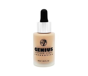 W7 Make-Up Genius Feather Light Foundation - Sand Beige