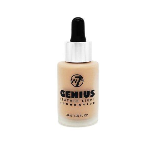 W7 Make-Up Genius Feather Light Foundation - Sand Beige