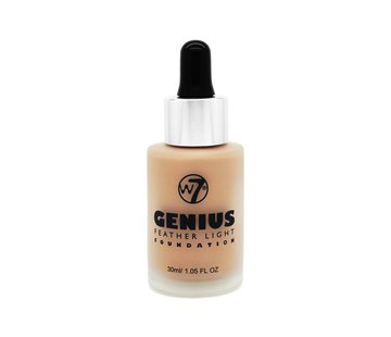 W7 Make-Up Genius Feather Light Foundation - Natural Beige