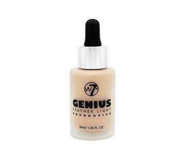 W7 Make-Up Genius Feather Light Foundation - Buff