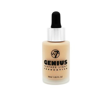 W7 Make-Up Genius Feather Light Foundation - Fresh Beige