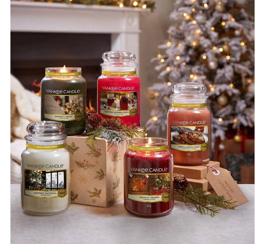 Holiday Hearth - Medium Jar