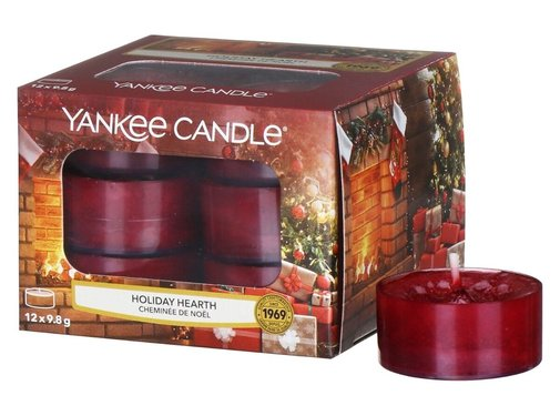 Yankee Candle Holiday Hearth- Tea Lights