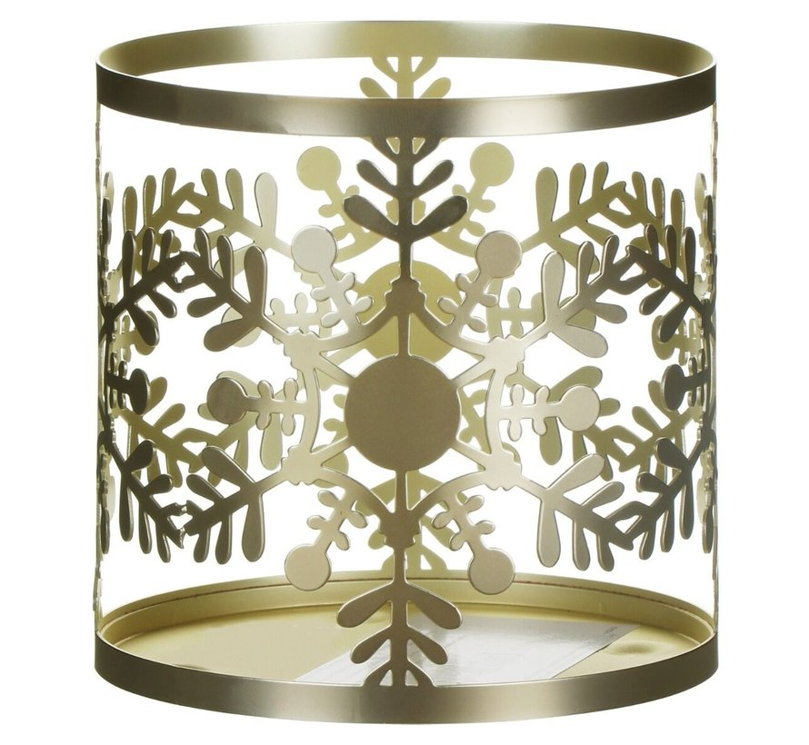 Snowflake Frost Jar Sleeve