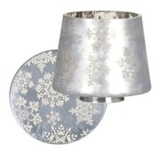 Yankee Candle Snowflake Frost Small Shade & Tray