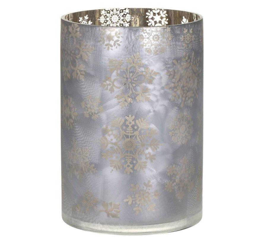 Snowflake Frost Jar Holder