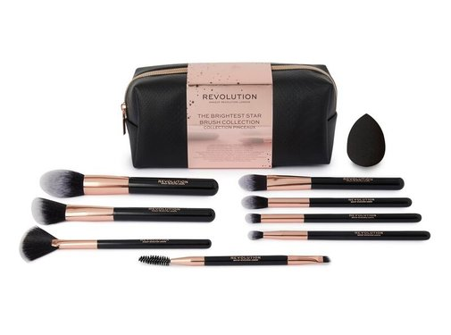 Makeup Revolution The Brightest Star Brush Collection - Gift Set