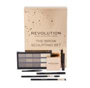 Makeup Revolution The Brow Sculpting Gift Set
