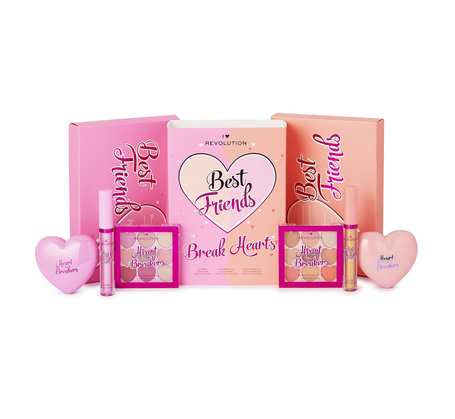 Best Friends Break Hearts Gift Set