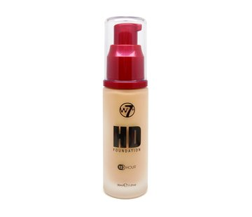 W7 Make-Up HD Foundation - Fresh Beige